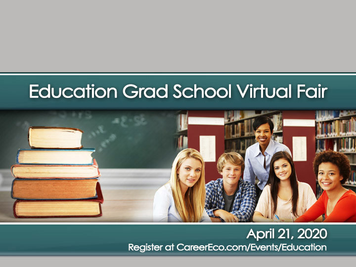 Education Grad School Virtural Fair