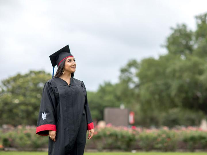 Latina Student Graduating