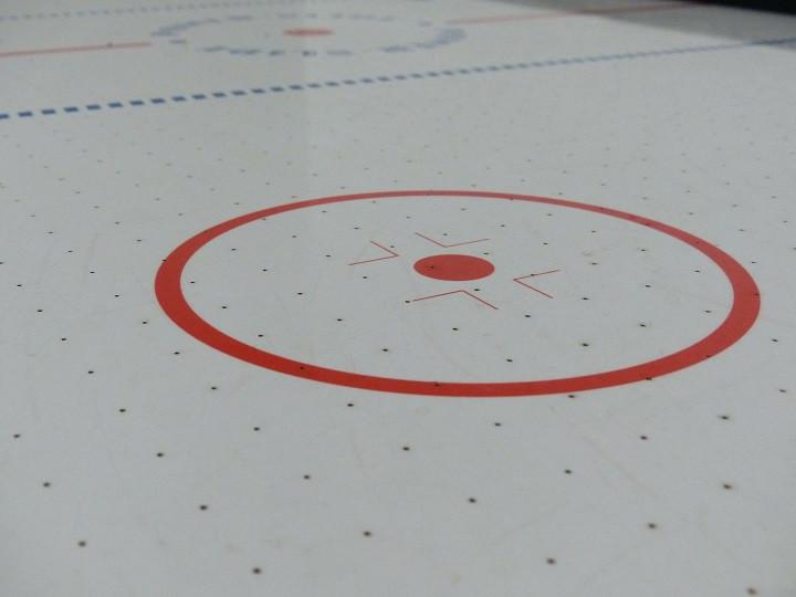life size air hockey