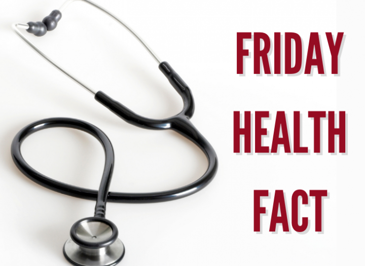 Friday Health Fact