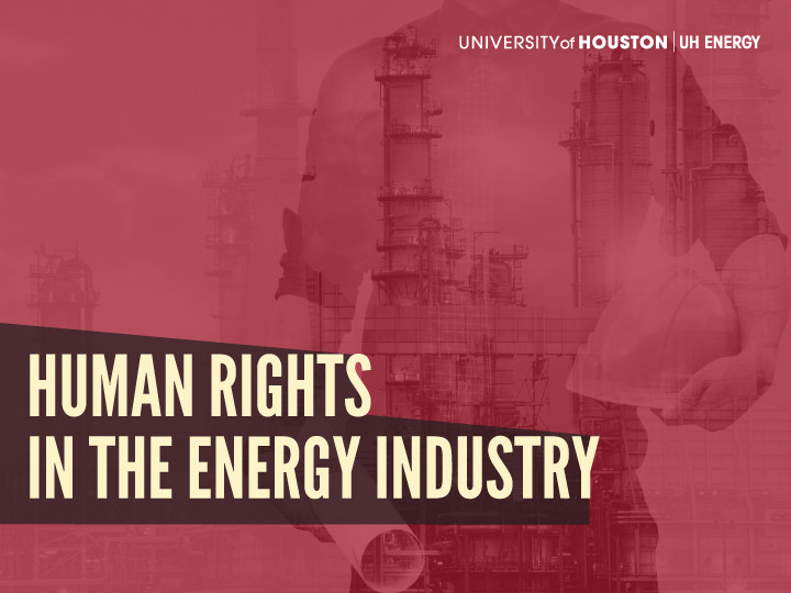 Human Rights in Energy