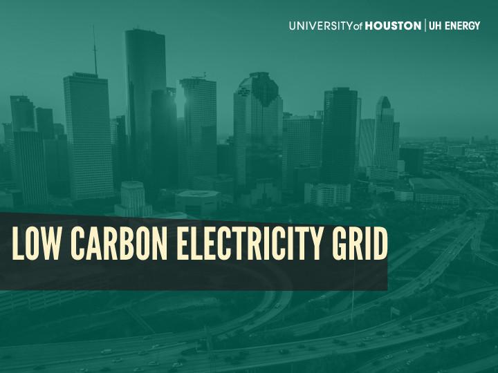 Low Carbon Electricity Grid