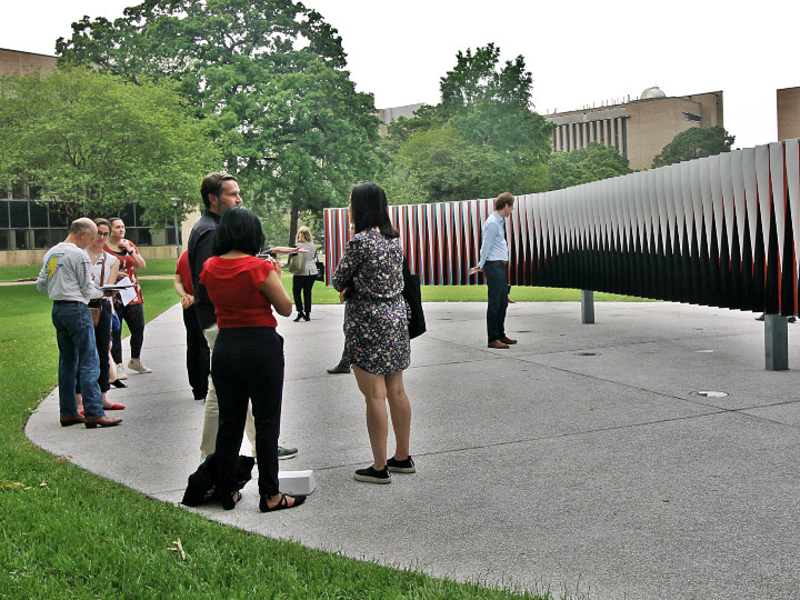 public art on UH campus