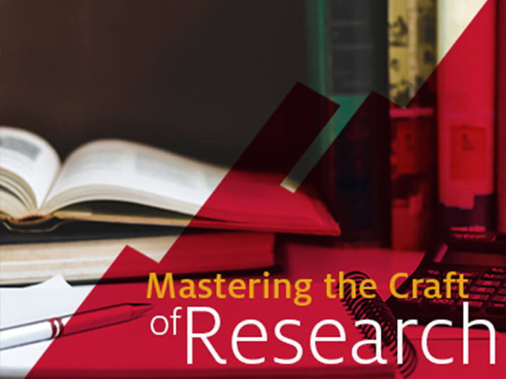 Mastering The Craft of Research